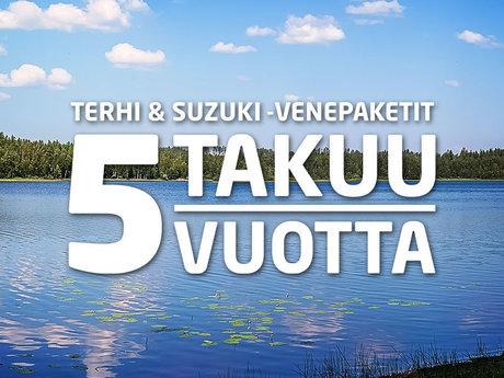 """""""Terhi & Suzuki"""" valčių pakuočių garantija - reklamjuostės atvaizdas"""